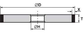 1A1 - Эльборовые круги и бруски на керамической связке